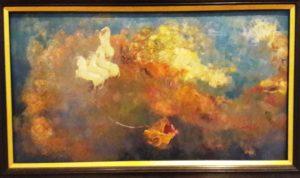 Odilon Redon: Wóz Apollina